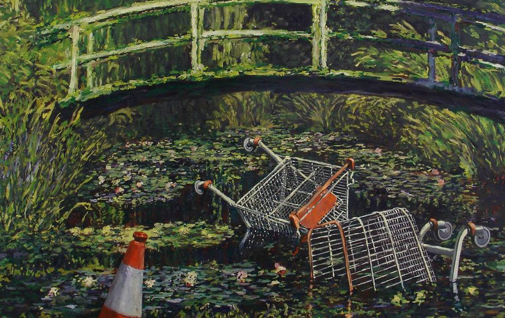 Работа Бэнкси будет выставлена на аукционе Sotheby's