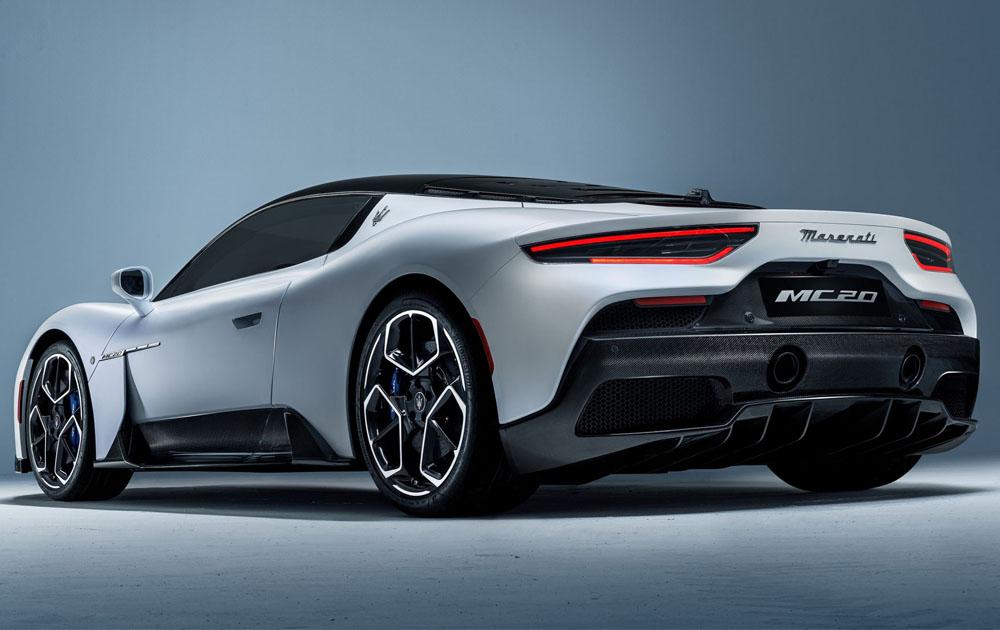 Maserati представили новый суперкар