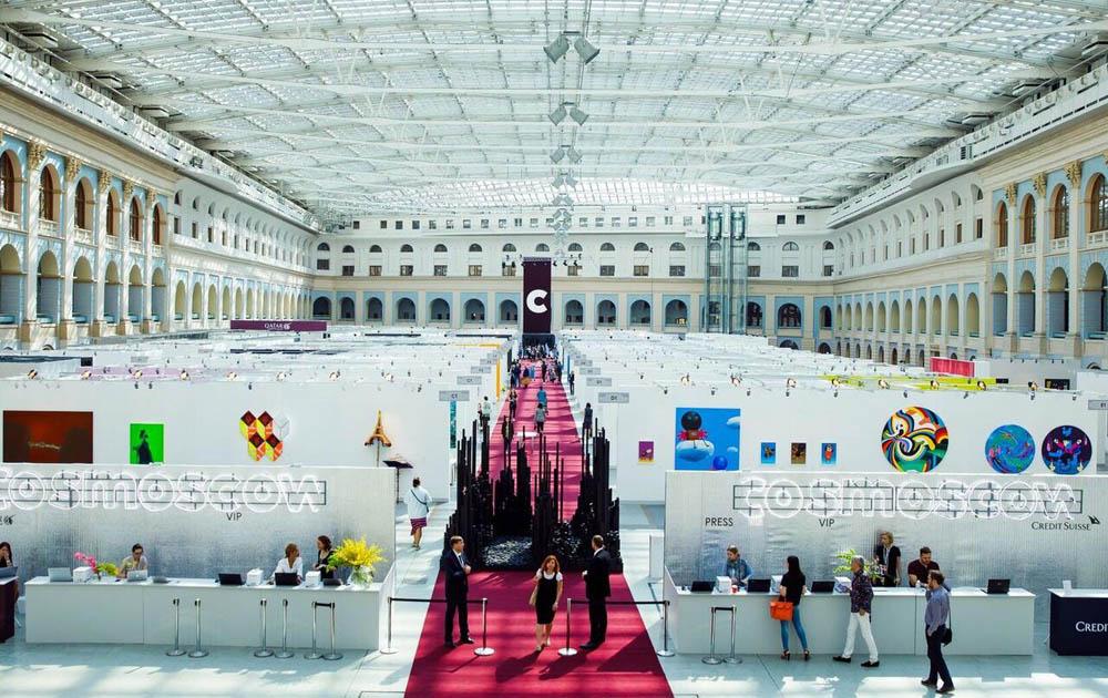 В Москве пройдет ярмарка современного искусства COSMOSCOW 2020