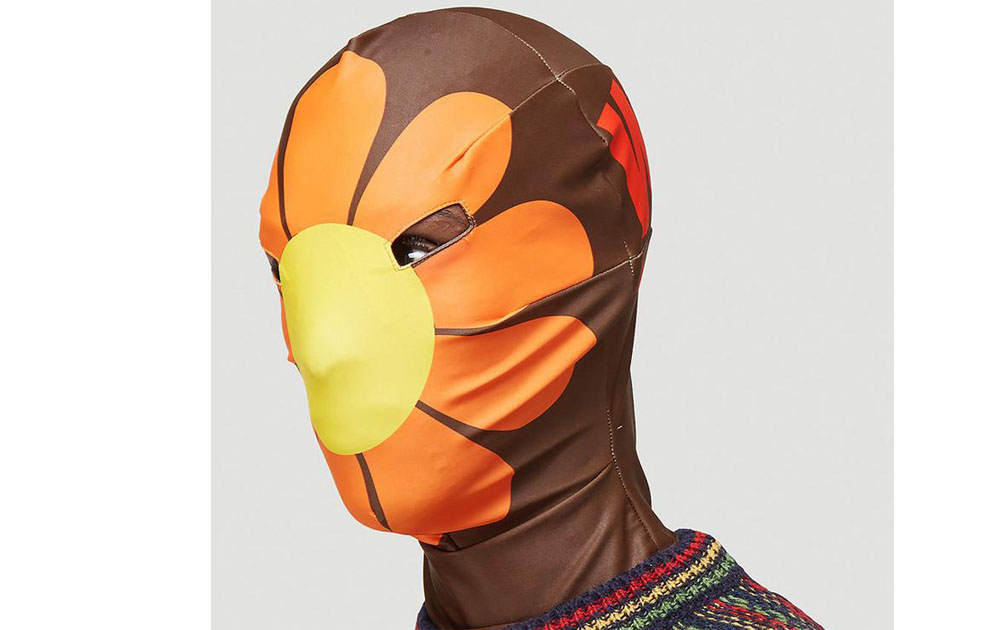 Дизайнер создал маску, чтобы обратить внимание на проблемы экологии