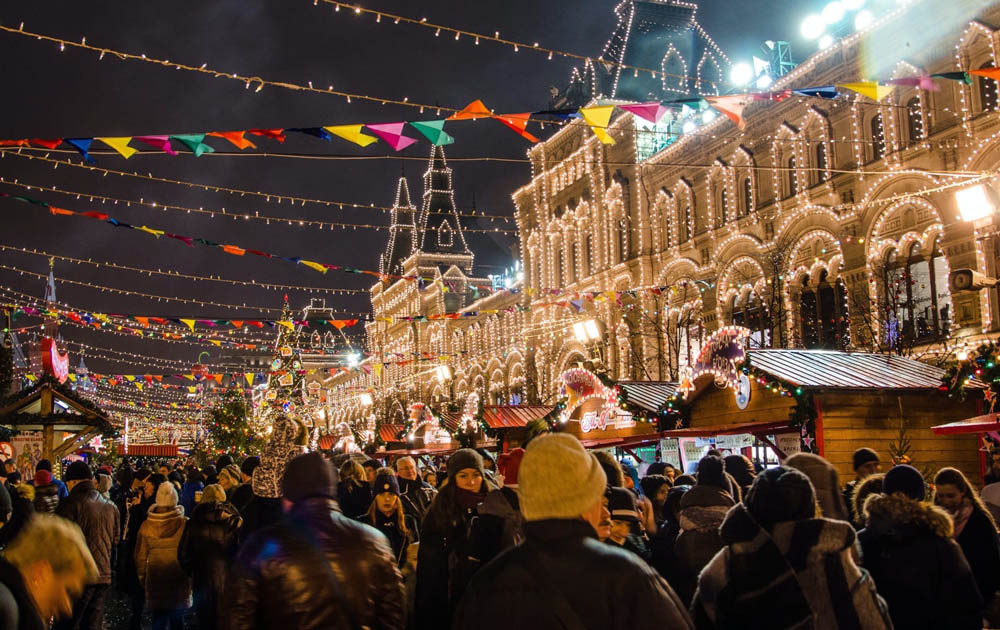 В Москве отменят новогодние гуляния