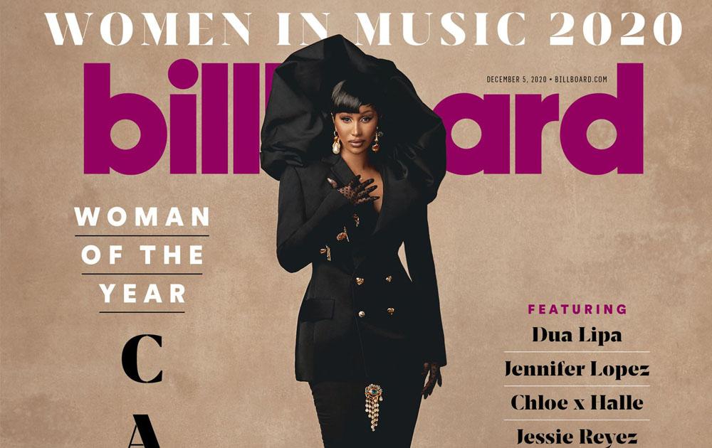 Cardi B стала «Женщиной года» по версии Billboard