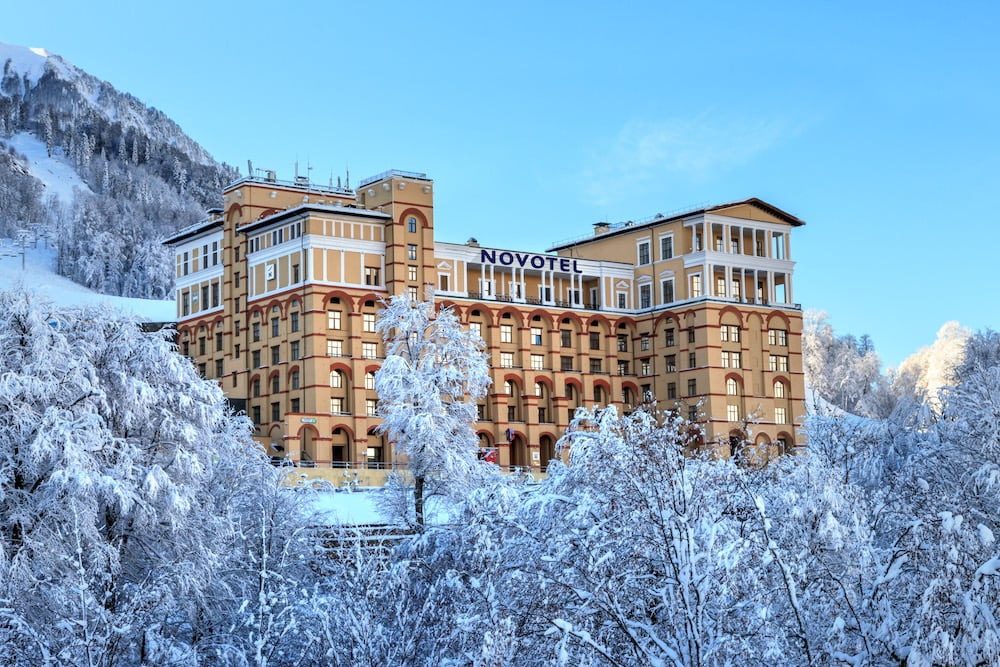 Novotel Resort Красная Поляна фасад