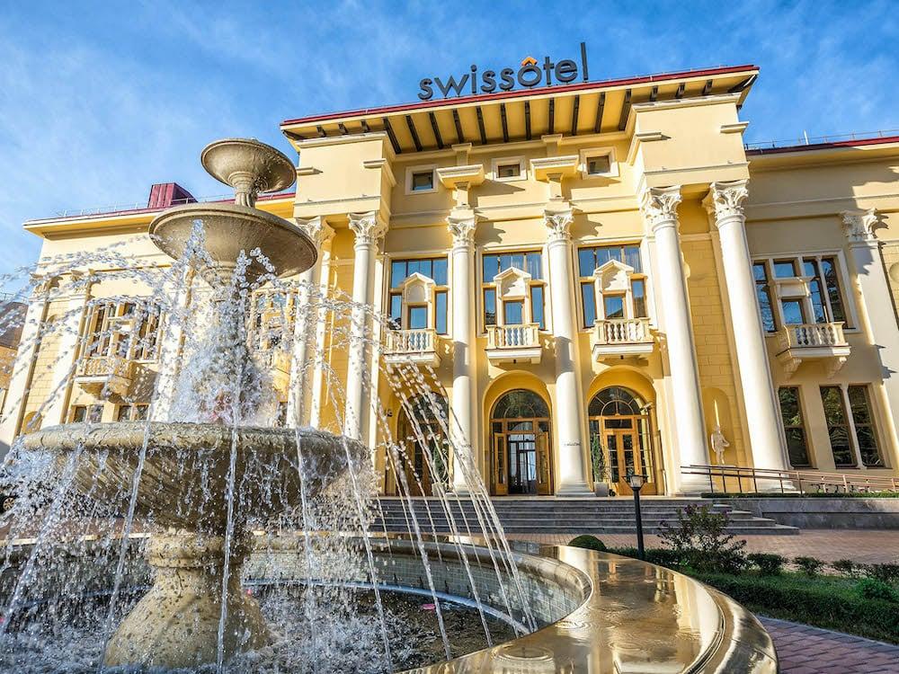Swissotel Resort Сочи Камелия фасад