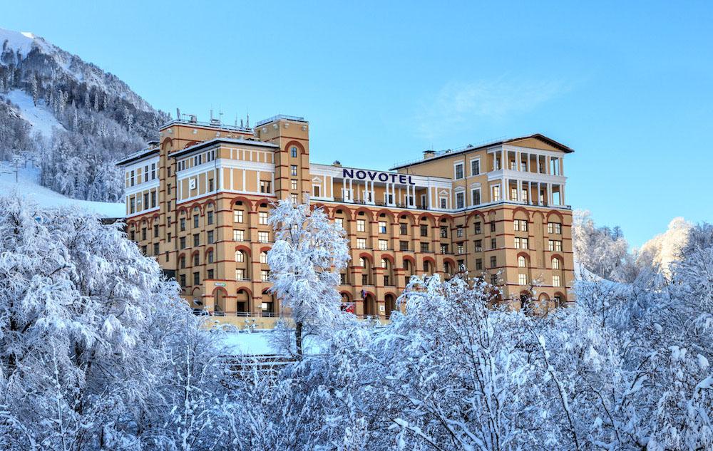 Зимний сезон в Сочи и на курортах Красная Поляна и Роза Хутор